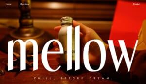 mellowCBDのトップページ