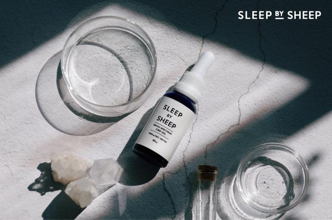 公式サイトに掲載されていたSleep by CBDの画像